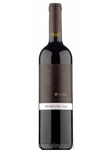 Repa Winery OAKED Petit Merle (Merlot) 2016 akostné značkové
