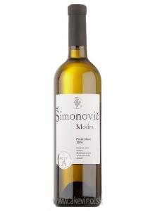 Šimonovič Pinot blanc 2016 neskorý zber