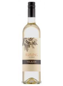 Velkeer Rizling vlašský 2017 akostné odrodové
