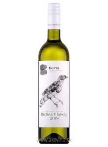 Vinárstvo Berta Rizling vlašský Single Vineyard 2018 akostné odrodové