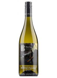 Vinárstvo Berta Winemaker's Choice Rizling vlašský 2017 akostné odrodové polosuché