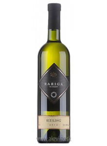 Víno Rariga Riesling 2014 akostné odrodové