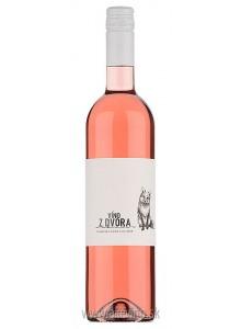 Víno z dvora Frankovka modrá rosé 2018