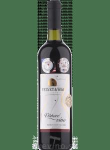 Velvet & Wild Višňové víno polosladké