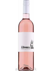 Víno z dvora Frankovka modrá rosé 2020 polosuché