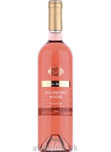 Chateau Topoľčianky Fresh Rulandské modré rosé 2019 neskorý zber polosladké