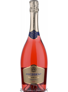 Chateau Topoľčianky Prezident rosé šumivé víno sladké