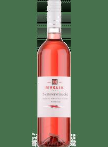 Myslík Winery Svätovavrinecké rosé 2020 polosladké