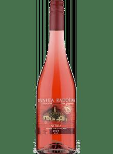 Pivnica Radošina Nitria rosé 2020 akostné odrodové
