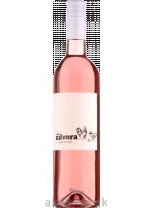 Víno z dvora Dunaj rosé 2020 polosladké