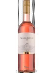 Elesko Frankovka modrá rosé 2020 akostné odrodové polosladké