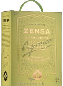 Zensa Chardonnay Terre Siciliane Organic 2020 Bag-in-Box 3L