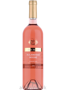 Chateau Topoľčianky Fresh Rulandské modré rosé 2020 neskorý zber polosladké