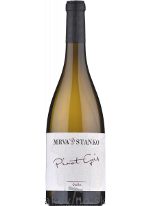 Mrva & Stanko Pinot gris 2020 neskorý zber (Kamenný most)