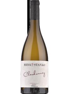 Mrva & Stanko Chardonnay 2020 neskorý zber (Kamenný most)