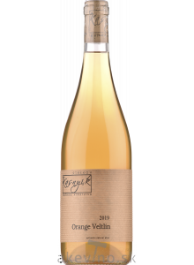 Rodinné vinárstvo Kasnyik Veltlínske zelené Orange 2019