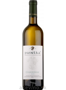 Pavelka Chardonnay 2020 výber z hrozna