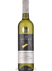 Víno Dudo Veltlínske zelené 2020 neskorý zber