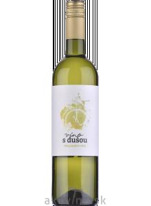 Víno s dušou Biely Muškát 2020 akostné značkové