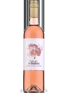 Víno s dušou Cabernet Sauvignon rosé 2020 akostné odrodové