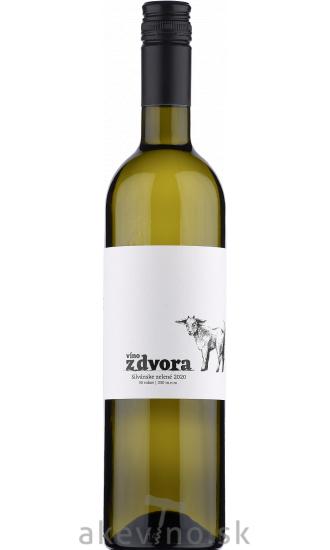 Víno z dvora Silvánske zelené 50/330 2020