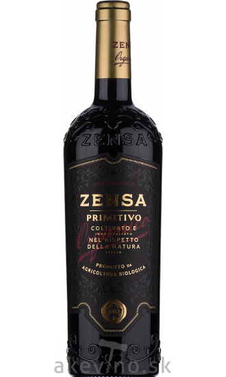 Zensa Primitivo Puglia Organic 2019
