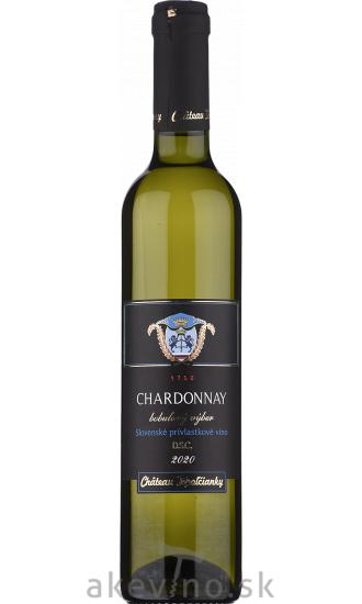 Chateau Topoľčianky Chardonnay 2020 bobuľový výber sladké 0.5l
