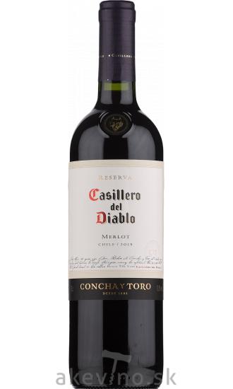 Concha y Toro Casillero Del Diablo Merlot Reserva 2019