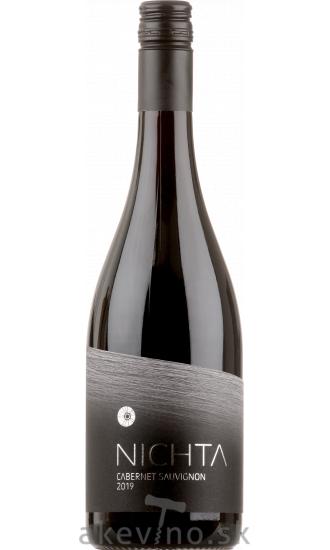 Víno Nichta FUSION Cabernet Sauvignon 2019 akostné odrodové