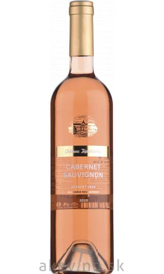 Chateau Topoľčianky Fresh Cabernet Sauvignon rosé 2020 neskorý zber polosladké