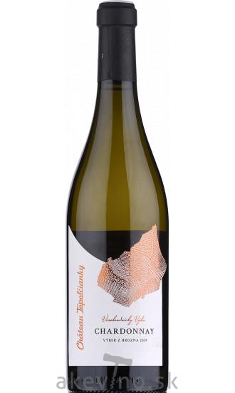 Chateau Topoľčianky Vinohradnícky výber Chardonnay 2019 výber z hrozna