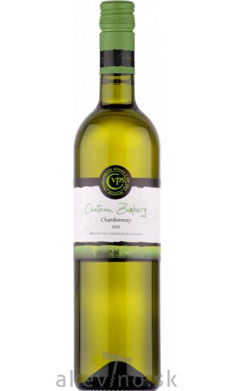Pavelka Chateau Zumberg Chardonnay 2020 akostné odrodové