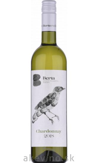 Vinárstvo Berta Chardonnay 2018 akostné odrodové