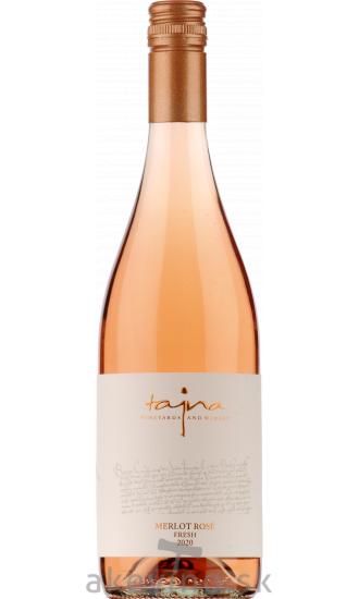 Víno Tajna Merlot rosé Fresh 2020