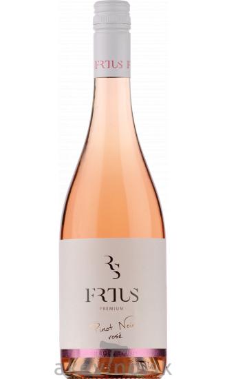 Frtus Winery Pinot noir rosé 2020 akostné odrodové polosuché