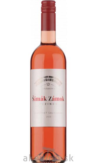 Šimák Zámok Pezinok Cabernet Sauvignon rosé 2020 akostné odrodové