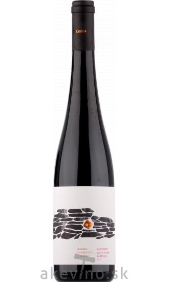 Víno Rariga Cabernet Sauvignon barrique 2017 akostné odrodové