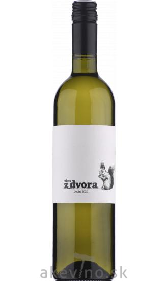 Víno z dvora Devín 2020 výber z hrozna polosladké