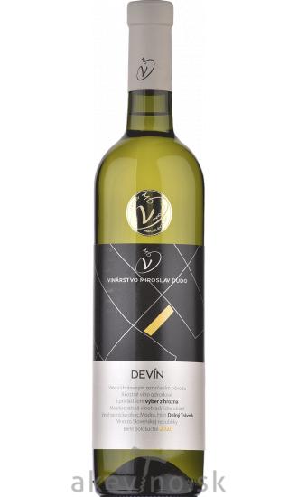 Víno Dudo Devín 2020 výber z hrozna polosuché