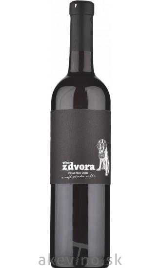 Víno z dvora Pinot noir z najlepšieho súdka 2018
