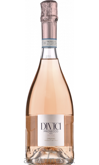 Divici Prosecco rosé DOC BIO extra dry