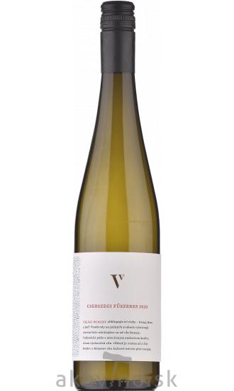 Világi Winery Csersegi Fűszeres 2020 akostné odrodové