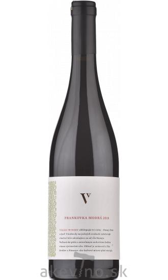 Világi Winery Frankovka modrá 2018 akostné odrodové