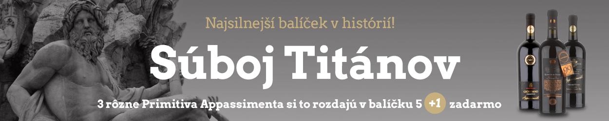 Súboj Titánov 5+1 zadarmo
